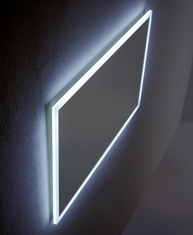 Kylpyhuoneen peili LED taustavalolla BALTECO ST - Interbauen ... f5b180d73d