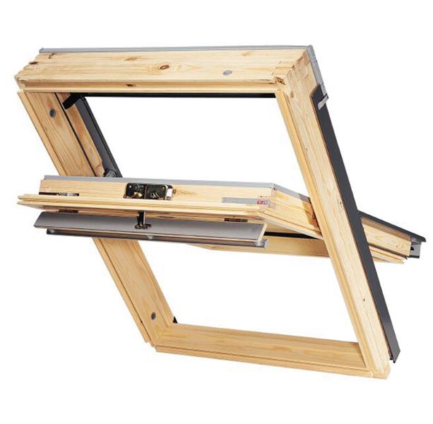 kattoikkuna velux ggl ck04 55x98cm interbauen rautakauppa netiss. Black Bedroom Furniture Sets. Home Design Ideas